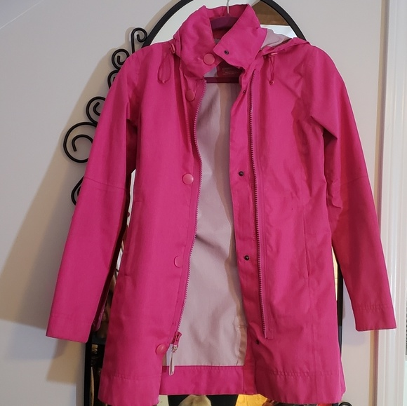 limited price search for genuine aesthetic appearance Bright Pink Light Raincoat